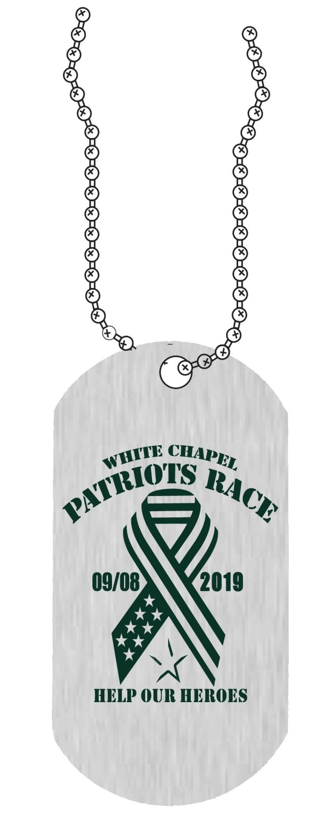 2019 Patriots Race_Finisher Medal